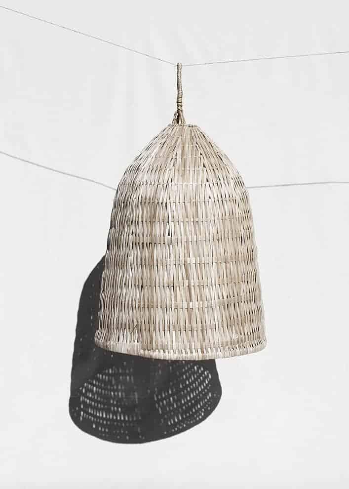 Suspension en guadua (bambou)