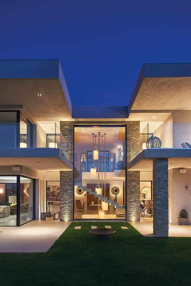 Transparence azuréenne par l'architecte d'intérieur Kelly ...