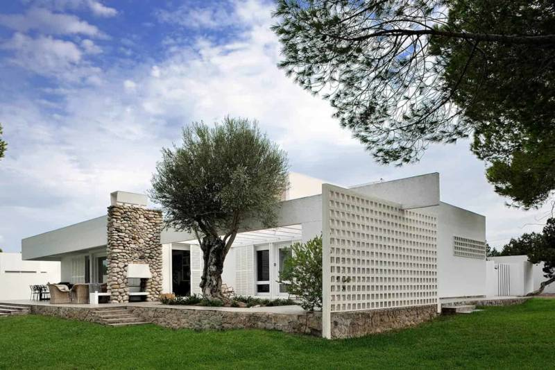 Villa La Moreneta – Ibiza – Architecte José Ribas González – ©Studio Erick Saillet – 04
