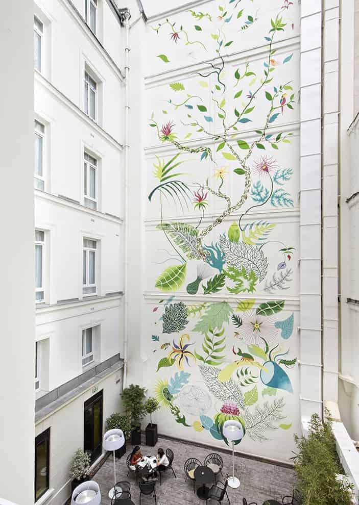 Hôtel Le Belleval, Paris - Studio Jean-Philippe Nuel. ©Nicolas Mathéus