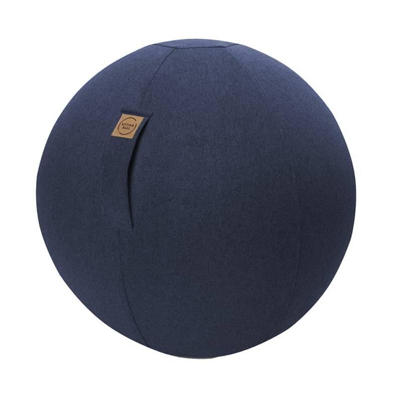 Pouf gonflable Sitting Ball Mesh, permettant d'améliorer la posture. Housse amovible. PVC sans Phtalates. ©JumboBag