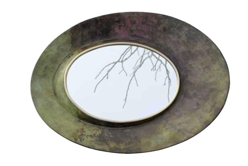 Miroir concave Blaze, design Carla Baz. © Marco Pinarelli