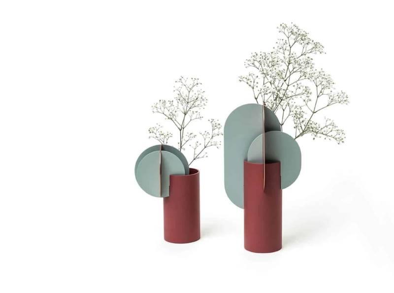 Vases Delaunay de la collection Suprematic
