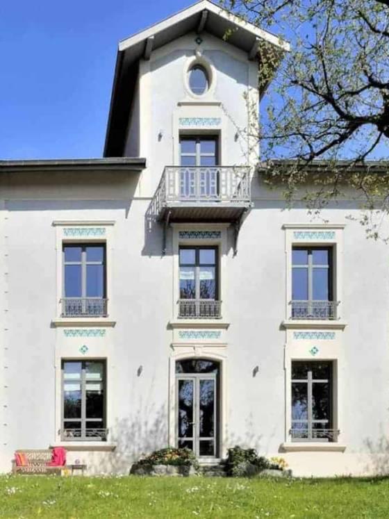 Rénovation d'une maison datant du début du XXème siècle, réalisée par le cabinet d'Architecture Bruno Godefroy (Ecully)