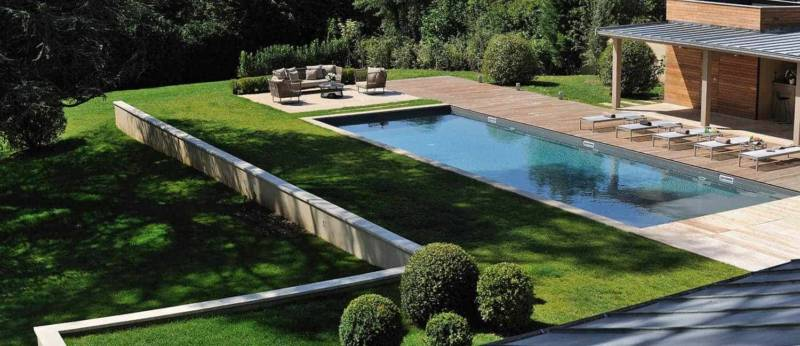Espace piscine et pool house - Mobilier extérieur Kettal Photographe Erick Saillet