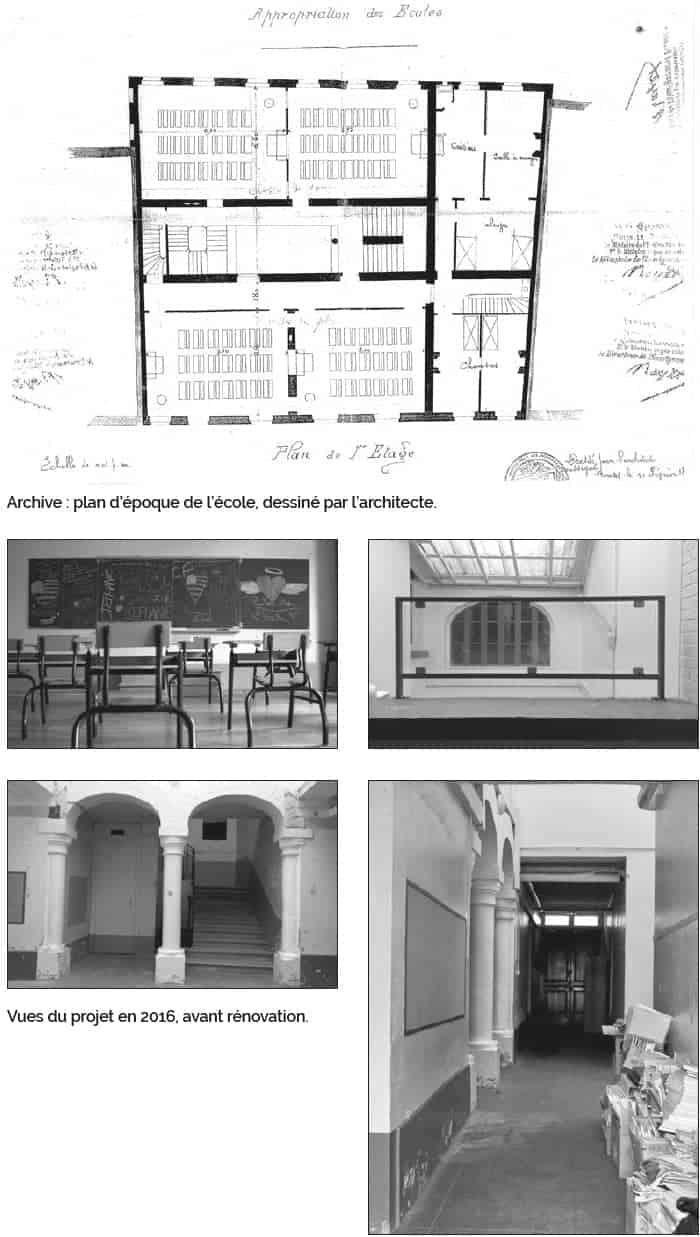 La Maison d'Ambronay - Vues du projet en 2016, avant rénovation.