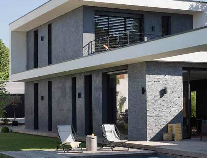 Maison contemporaine réalisée par naao architecture à lyon - caluire 02