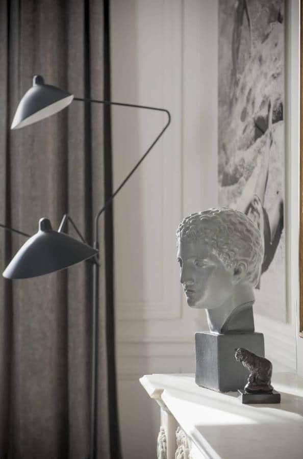 Suite parentale - Luminaire Serge Mouille