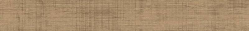 Lame de grès cérame Lagom, enrichi de Mix Decori (6 motifs stylisés). Coloris Blond. 15 x 120 cm. ©Marca Corona
