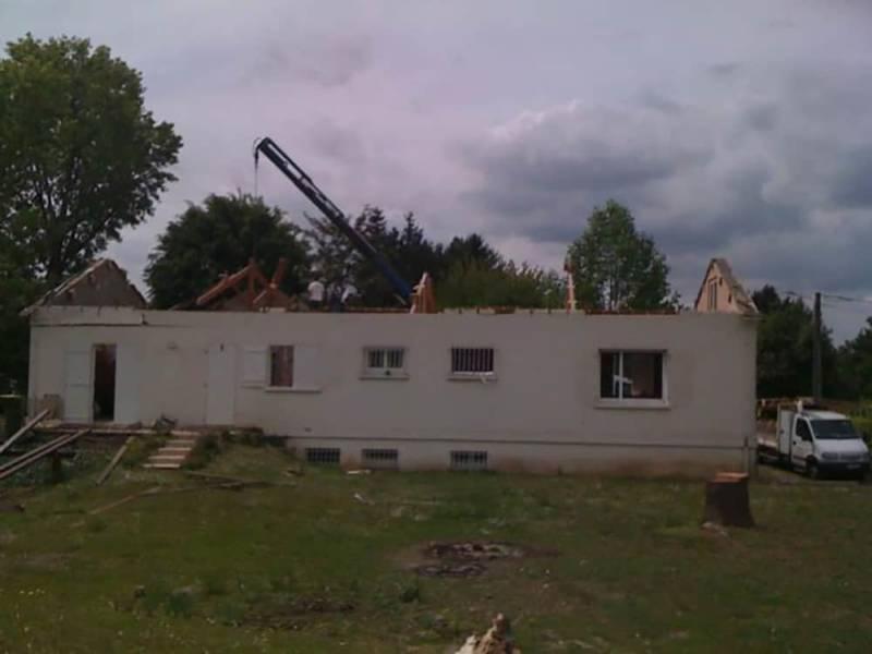 Rénovation démolition étage existant