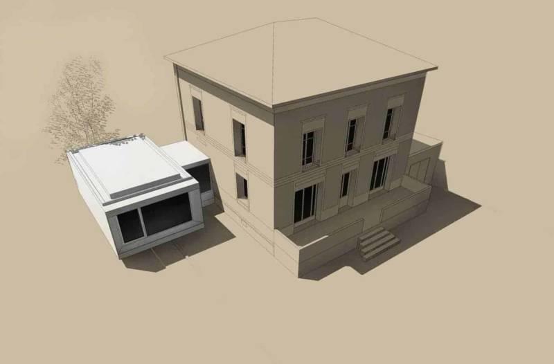 Vue façade est Architectes Laurent Mayoud et Nils Degrémont Agence Playtime