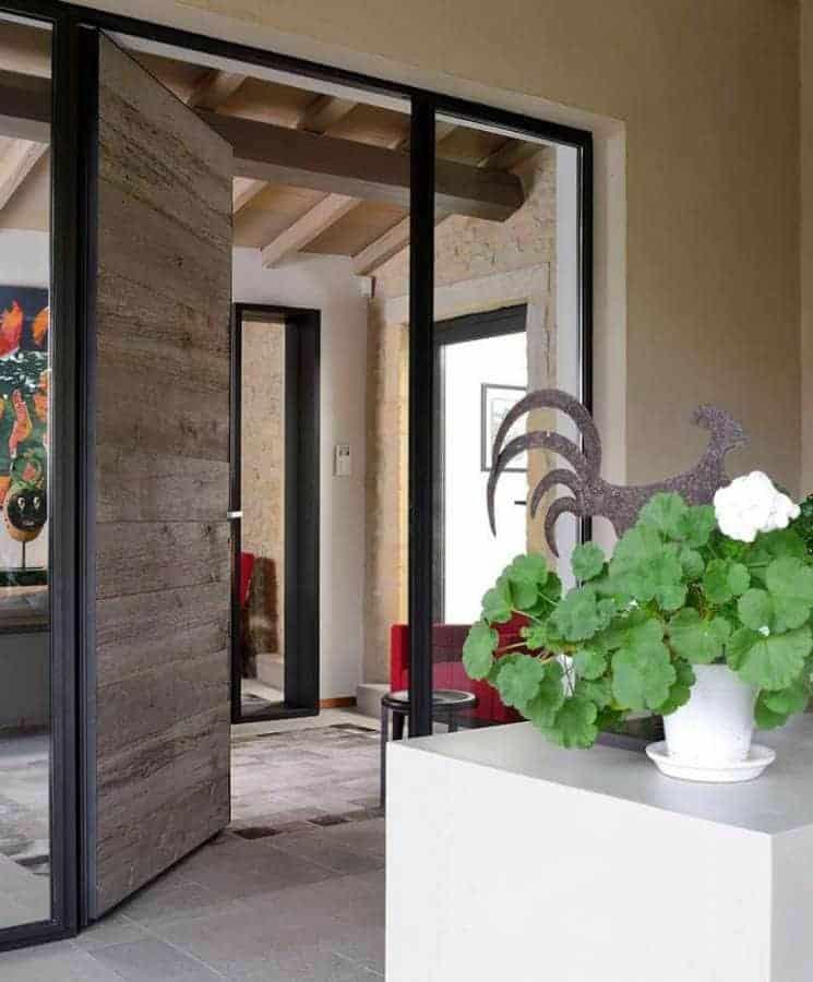 Entrée extension Réalisation architecture d'intérieur Dorga - David Burles Photographe Erick Saillet