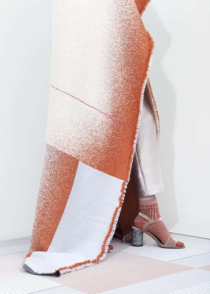 Collection textile Mono de Mae Engelgeer, inspirée des kimonos vintage. ©Mae Engelgeer