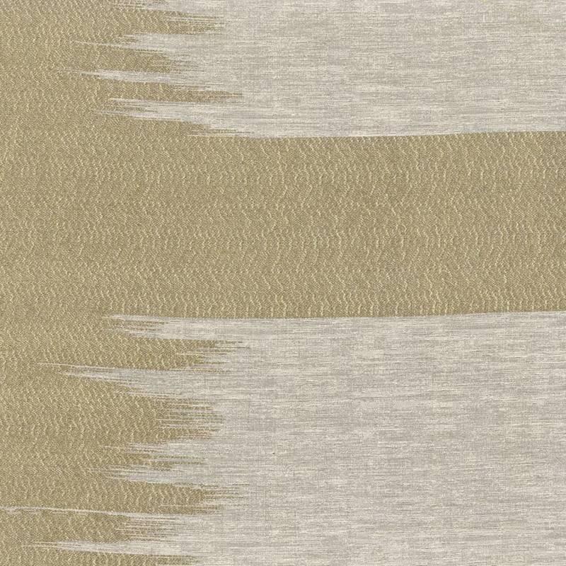 Jacquard Nice, coloris Avorio:Argento. En viscose, coton, soie. Laize 140 cm. Siège léger, rideau, coussin. ©Armani Casa