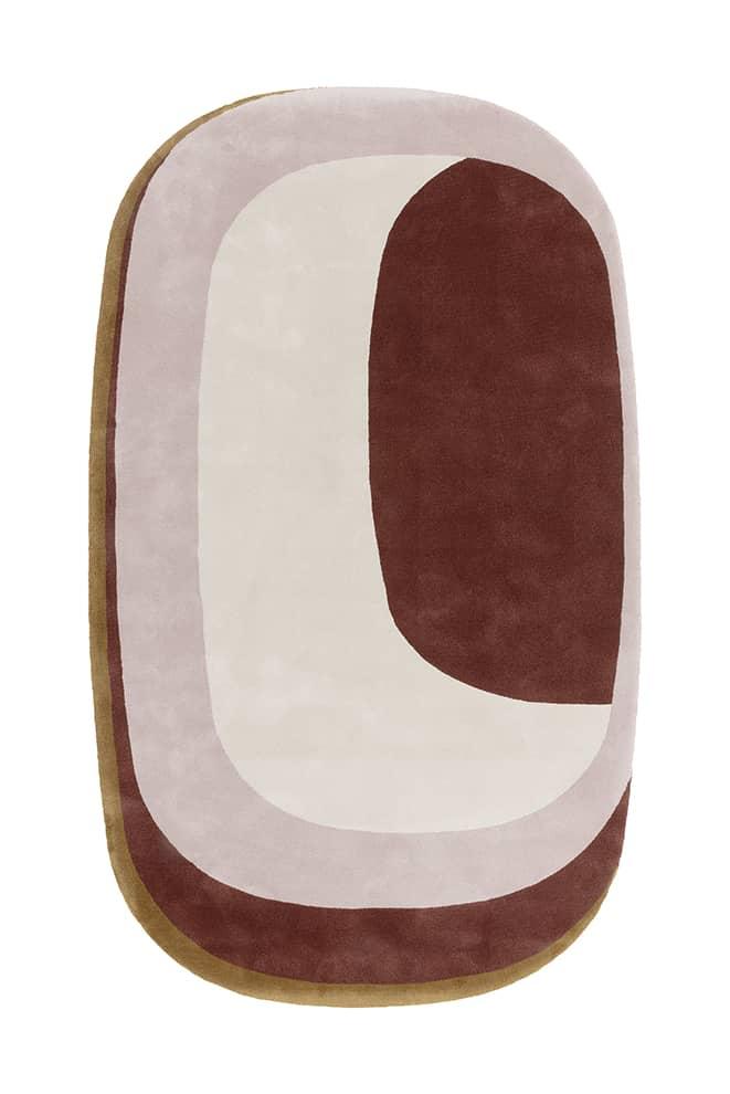 Maestro Tempo, tapis tufté coloris Russet, en soie et laine. 4,85 x 9,9 m max. ©Limited Edition