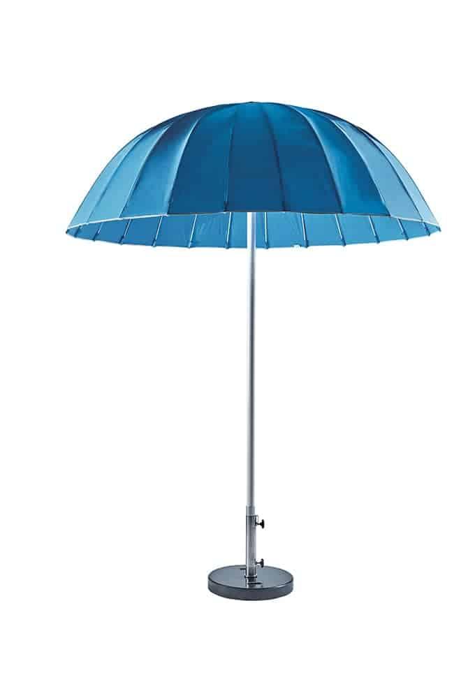 Parasol Umbrella en fibre de verre et tissu Sunbrella®. ø 210 cm. ©Sifas