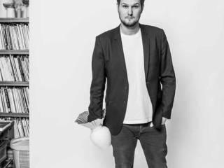 Portrait de Sebastian Herkner, designer de l'année 2019 Maison&Objet. Photographe Lutz Sternstein