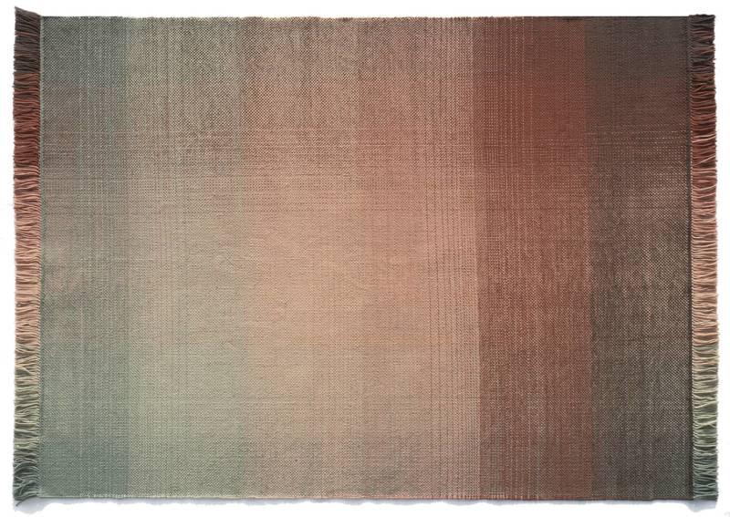 Shade Palette 1, tapis tissé main, en laine de Nouvelle-Zélande. 170:200 x 240:300 cm. ©Nanimarquina