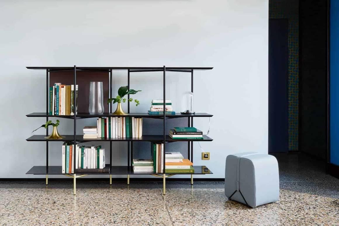 Bibliothèque Clyde, collection Ligne Roset 2018. ©Ligne Roset