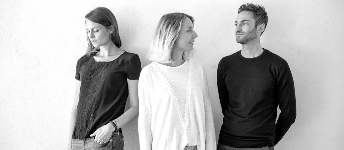 Portrait Numéro 111 – Jennifer Julien, Sophie Françon et Grégory Peyrache. Photographe Pierre Grasset.