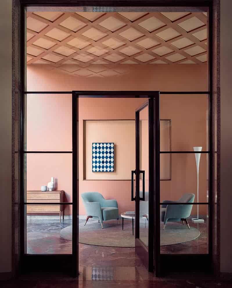 The Art of Living – Scène à la Villa Carminati (architecte Romeo Moretti, 1938-39)