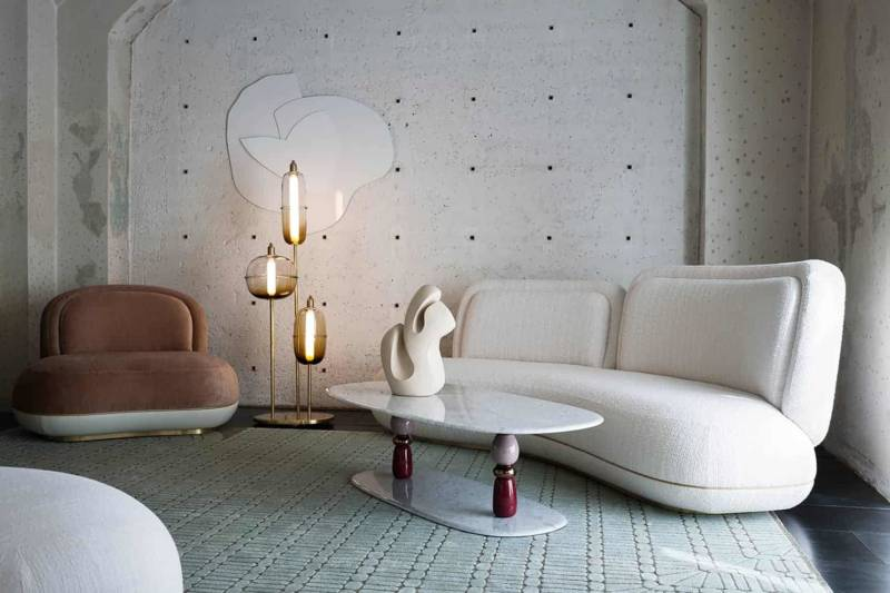 Collection IV – Sofa et fauteuil Oshun,