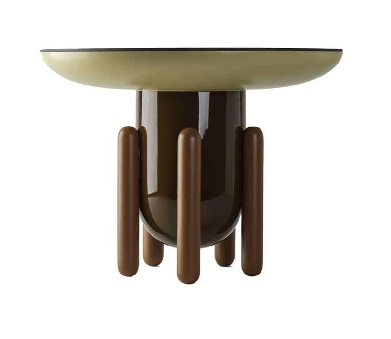 Explorer – Table fibre de verre laqué,