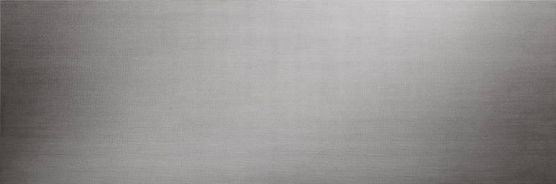 Plaque de céramique, conçue comme une peau architecturale (sols, façades). Modèle Filo Argento. 100 x 300 cm. Ép. 3 mm. ©Laminam