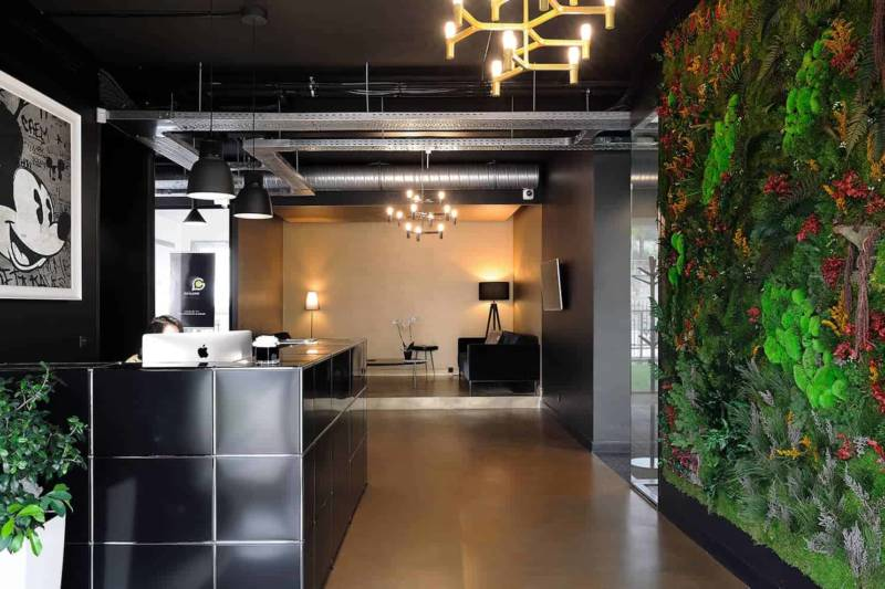 À Lyon, la réalisation du siège de Carré d'Or immobilier a été confiée au studio Couleur Innovation