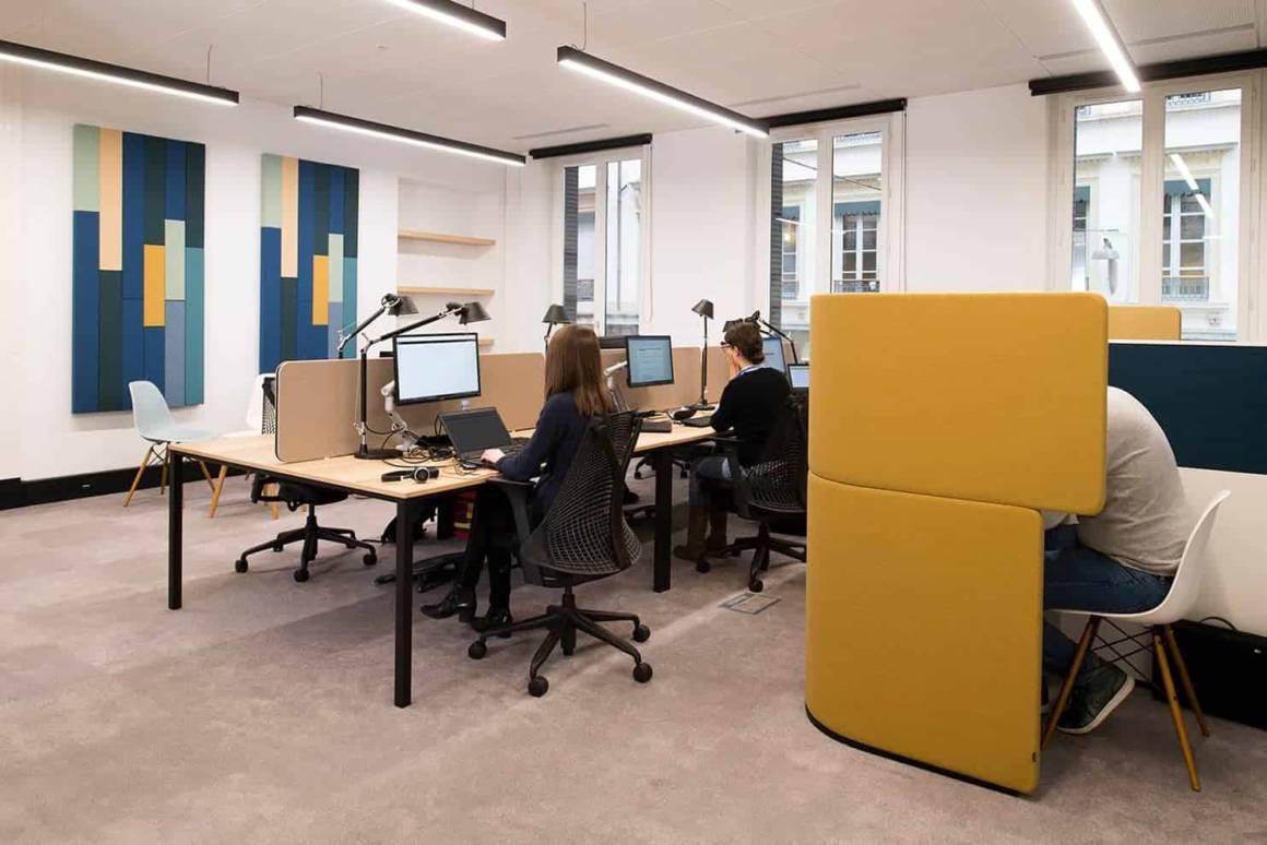 Apsi spécialisé dans l'aménagement d'espaces de travail