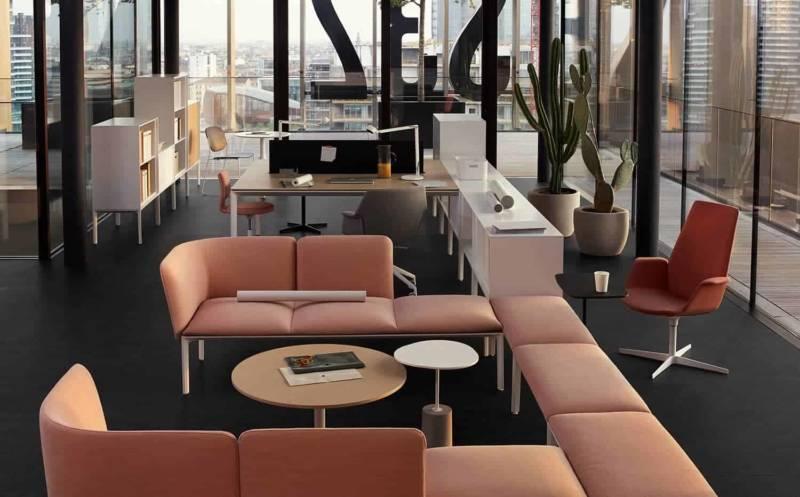 Concept d'espaces de travail Light Office