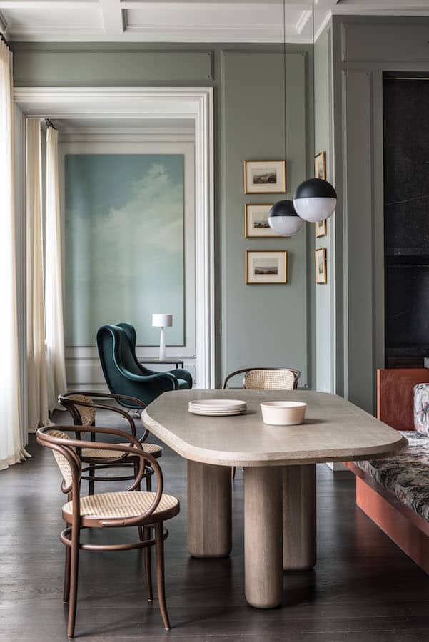 Réalisation d'un appartement à Paris. Antoine Simonin – Studio ASAÏ.