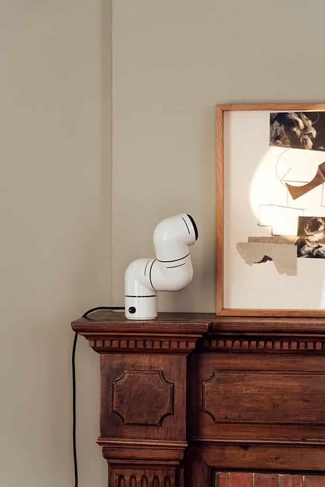 Tatu – Lampe de table:murale, composée de 3 parties pivotantes