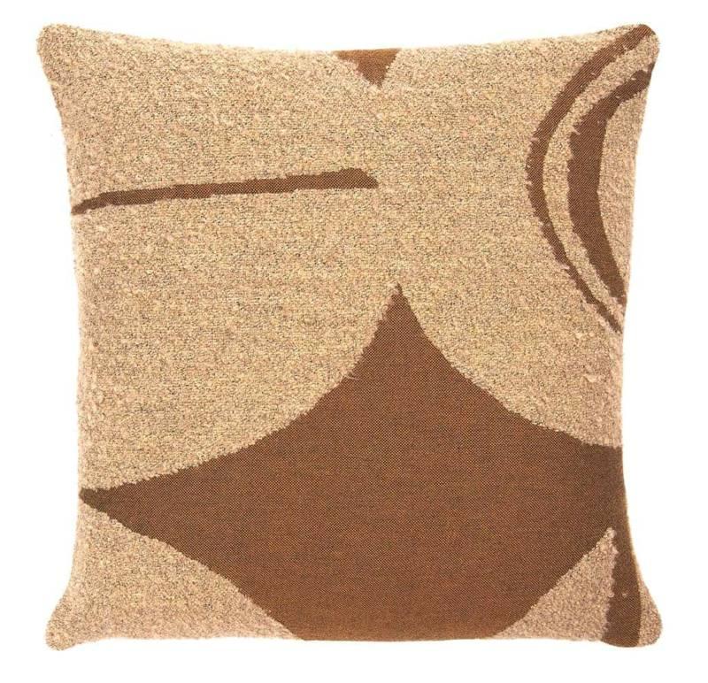 Avana Orb – Coussin en coton et laine