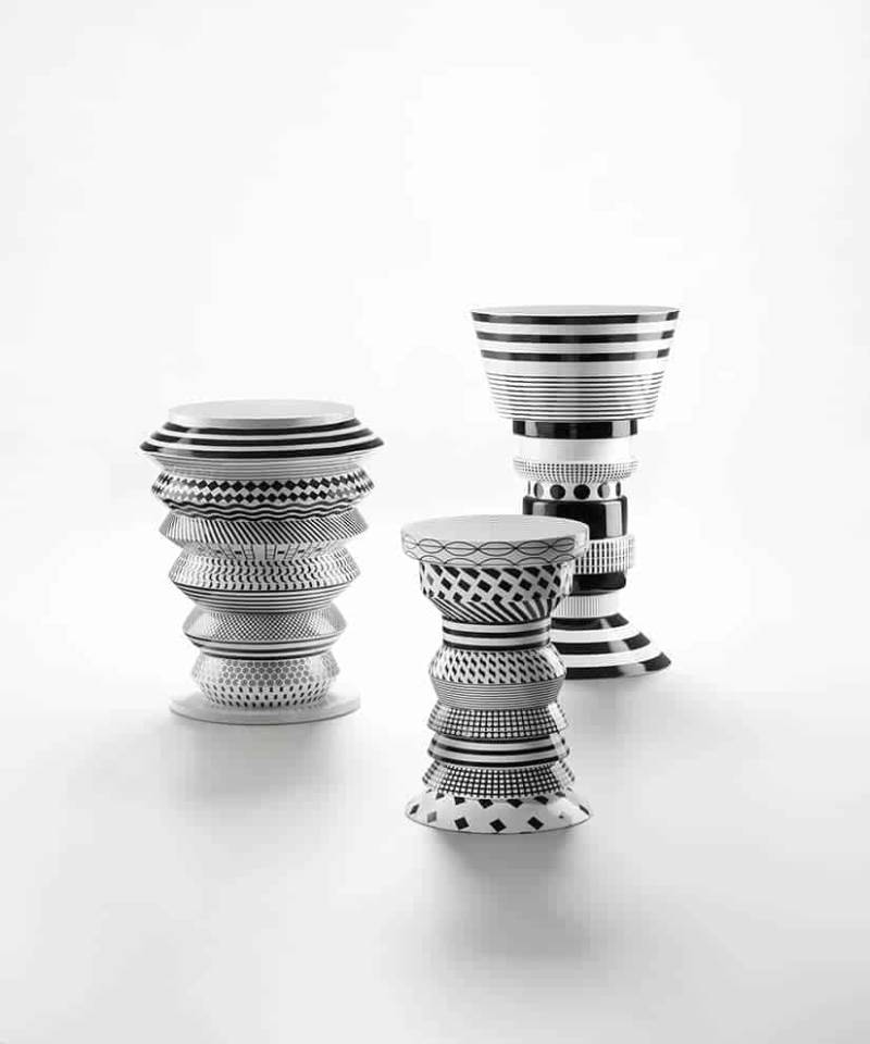 Bossanova – Tables d'appoint:totems tribaux