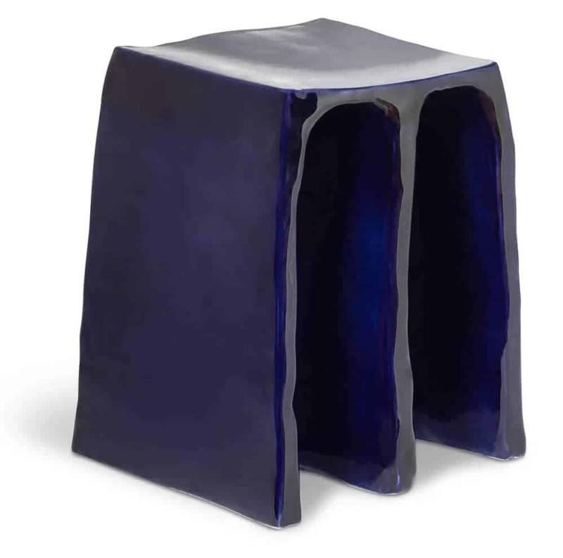 Chouchou – Tabouret:table d'appoint en céramique