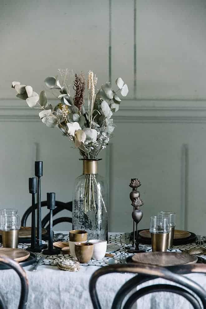 Collection d'art de la table, d'objets et de textiles