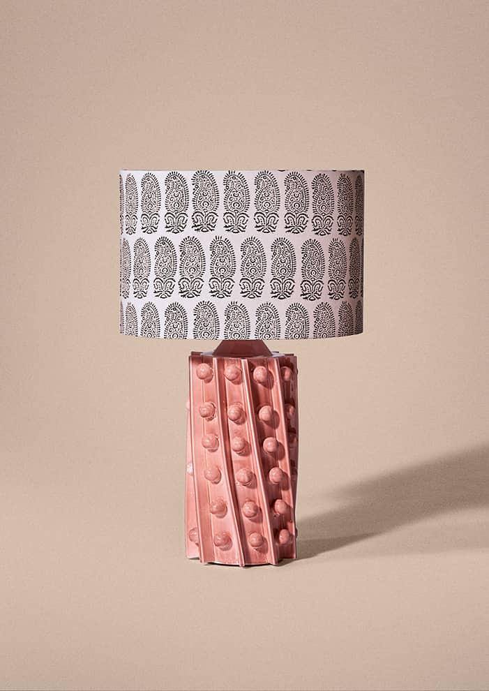Lampe Byzance en céramique. ©Laura Gonzalez