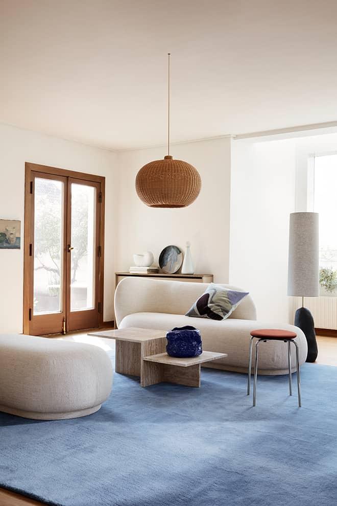 Nouvelle collection – canapé et ottomane Rico