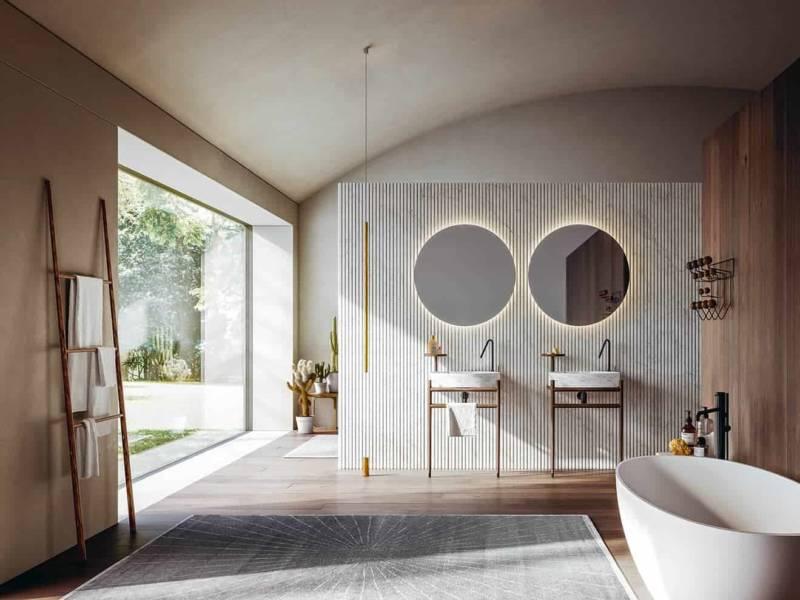 Projet de salle de bains Ellisse par Archea Associati