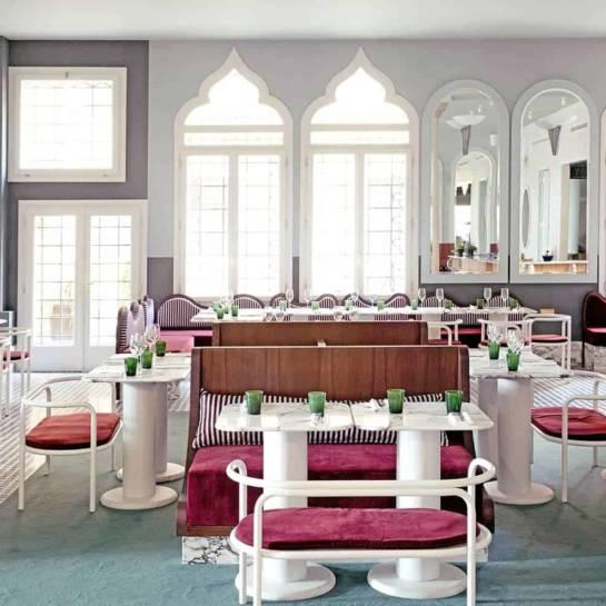 Le restaurant du Palazzo Experimental (Venise, Italie)