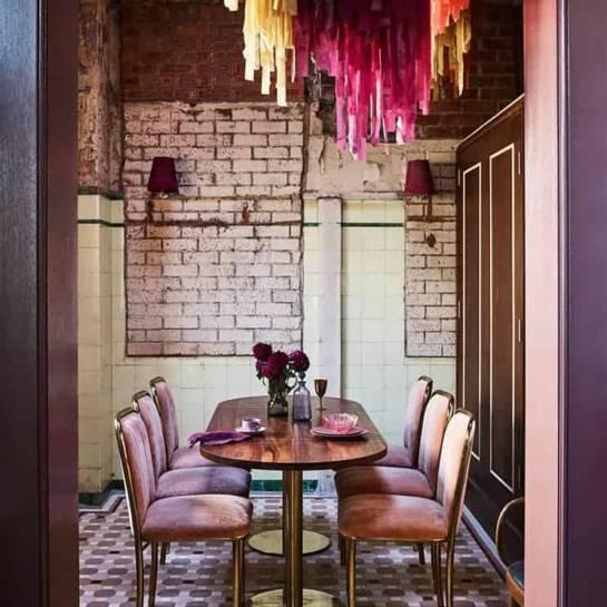 Salle à manger, The Imperial restaurant (Sydney, Australie)