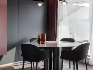 Living, chambre de l'hôtel La suite (Matera, Italie)