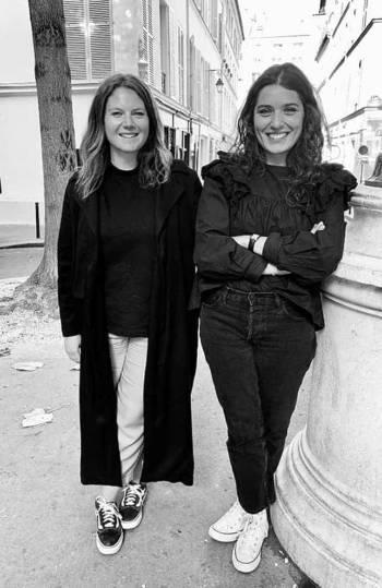 Portrait Marie et Thaïs - fondatrices de la marque Folks