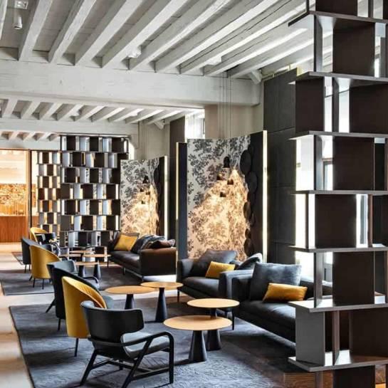 Le lobby/lounge de l'hôtel InterContinental du Grand Hôtel-Dieu (Lyon)