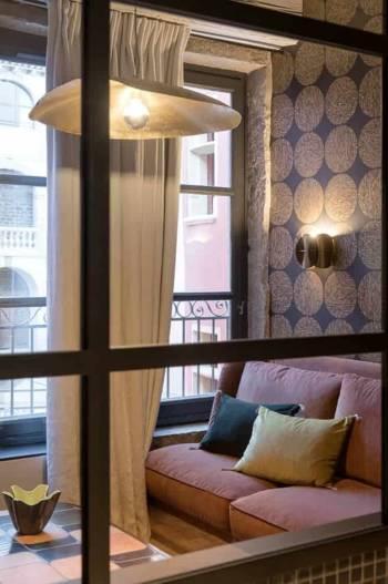 Suite Ambre, inspiration années 1950. 35 m2.