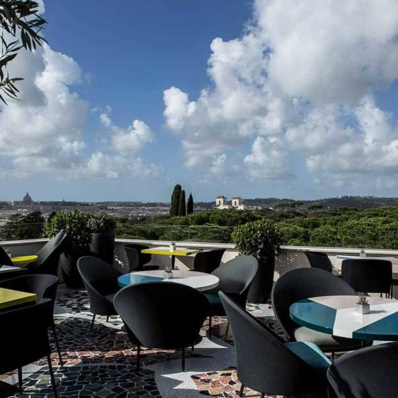 Architecte d'intérieur Jean-Philippe Nuel signe la rénovation du Sofitel Villa Borghese