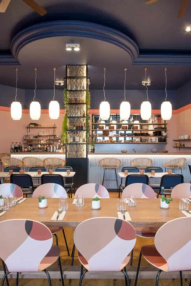 Miraflores et Yka, restaurant recto/verso
