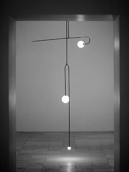 Mobile Chandelier Collection MAISON&OBJET 2020. Design Michael Anastassiades. Photo Osma Harvilahti