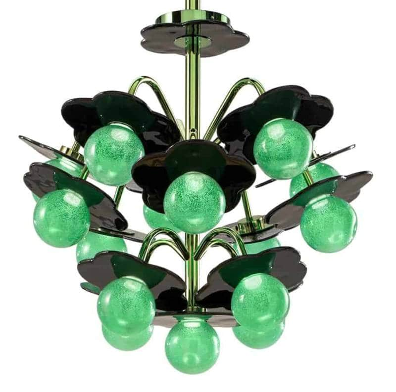 India Mahdavi chandelier Clover Wonderglass